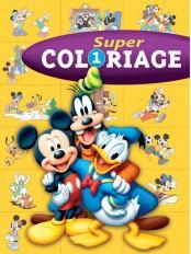 Mickey, SUPER COLORIAGE