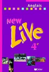 New Live 4e LV1 - Livre élève