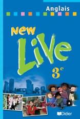 New Live 3e LV1 - Livre élève