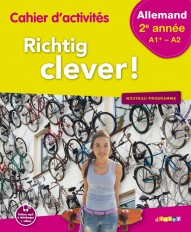 Richtig Clever 2ème année - Cahier - version papier