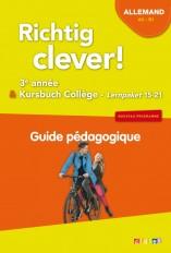Richtig Clever 3ème année - Guide pédagogique - version papier