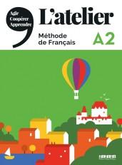 L'Atelier niv .A2 (éd.2019) - Livre + DVDrom