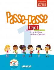 Passe - Passe niv.1 - Etape 1 - Livre + Cahier + CD