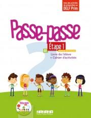 Passe - Passe niv.2 - Etape 1 - Livre + Cahier + CD