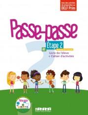 Passe - Passe niv.2 - Etape 2 - Livre + Cahier + CD