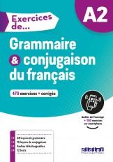 Exercices de Grammaire et conjugaison A2 - Livre