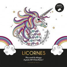 Licornes - Happy coloriage