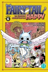 Fairy Tail - La grande aventure de Happy T06