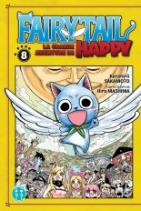 Fairy Tail - La grande aventure de Happy T08