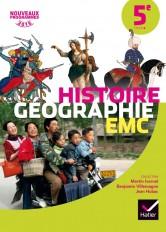 Histoire-Géographie EMC 5e éd. 2016 - Manuel de l'élève