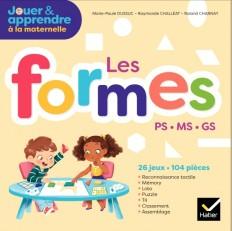 Jouer et Apprendre - Les formes - PS, MS, GS - Éd. 2018 - Boîte de matériel pour la classe
