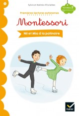 Nil et Mia à la patinoire - Premières lectures autonomes Montessori