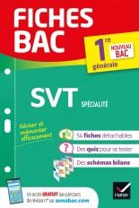 Fiches bac SVT 1re générale (spécialité)