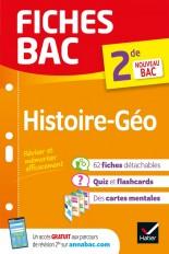 Fiches bac Histoire-Géographie 2de