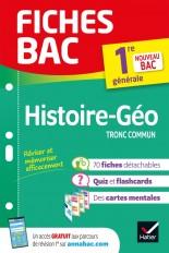 Fiches bac Histoire-Géographie 1re générale (tronc commun)