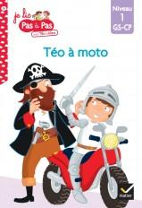 Téo et Nina GS-CP Niveau 1 - Téo à moto