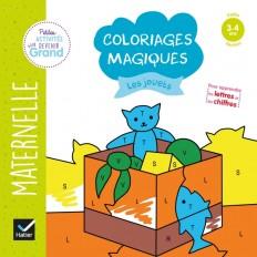 Coloriages magiques - Les jouets PS