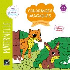 Coloriages magiques - Les animaux GS