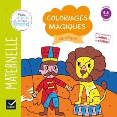 Coloriages magiques - Le cirque GS