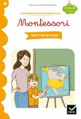 Premières lectures autonomes Montessori Niveau 3 - Sam l'Américain