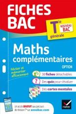 Fiches bac Maths complémentaires Tle (option)