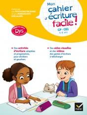 Mon cahier d'écriture facile ! adapté aux enfants DYS ou en difficulté d'apprentissage