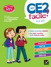 Mon CE2 facile ! adapté aux enfants DYS ou en difficulté d'apprentissage