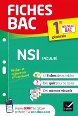 Fiches bac NSI 1re générale (spécialité) - Bac 2022