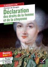 Déclaration des droits de la femme et de la citoyenne (Bac 2022, 1re générale & 1re techno)