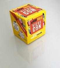 Mini-boîte Apéro culte- Vieux con
