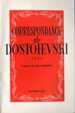 Correspondance de Dostoïevski, t.IV