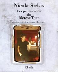 Les petites notes du Météor Tour