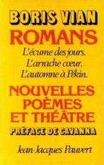 Romans, nouvelles, poèmes et théâtre