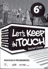 LET'S KEEP IN TOUCH 6E RCI TEACHER'S