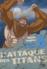 L'Attaque des Titans Edition Colossale T06