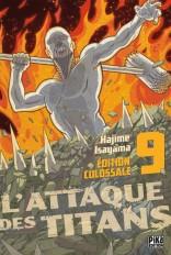 L'Attaque des Titans Edition Colossale T09