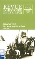 Revue du Mémorial de la Shoah n°205