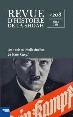 Revue d'Histoire de la Shoah n° 208