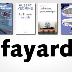 Une sélection de livres à moins de 8€ aux éditions Fayard