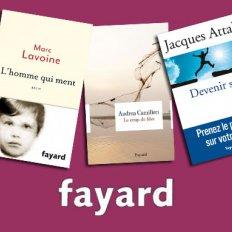 Un sélection de livres à moins de 8€ aux Éditions Fayard