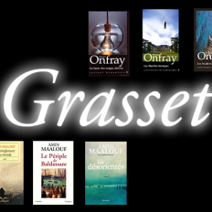 Une sélection de livres à petits prix aux Éditions Grasset