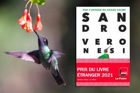 """Le Prix du Livre étranger 2021 France Inter / Le Point attribué au roman """"Le colibri"""" de Sandro Veronesi"""