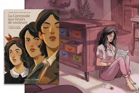 """""""La Commode aux tiroirs de couleurs"""" : le roman d'Olivia Ruiz adapté en bande dessinée"""