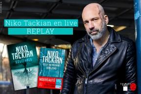 Niko Tackian : découvrez le replay du live de l'auteur