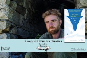 """""""La félicité du loup"""" de Paolo Cognetti : coup de cœur de Pierrick Tellier, Librairie Martelle à Amiens"""
