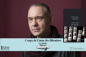 """""""Les vies de Jacob"""" de Christophe Boltanski : coup de cœur de Valérie Lebras, Librairie Ravy à Quimper"""