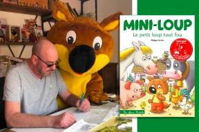 """Philippe Matter, créateur de Mini-Loup : """"L'enfant est au coeur de mon travail"""""""