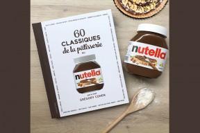 oncours : remportez un pot NUTELLA® personnalisé avec votre prénom et un livre «60 classiques classiques de la pâtisserie au NUTELLA®»