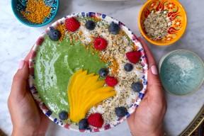 Green bowl : la recette healthy de Stéphanie Guillemette