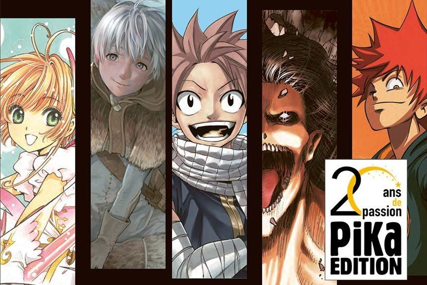 Pika Edition célèbre 20 ans de passion manga